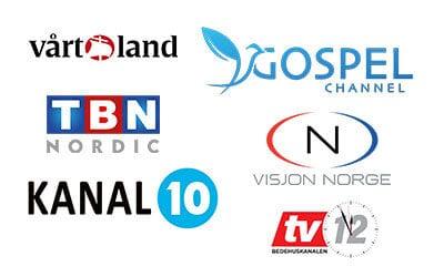 Nye kristne TV-kanaler på vei i Norge